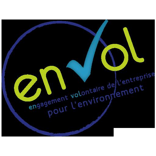 logo label EnVol engagement volontaire de l'entreprise pour l'environnement - Envol