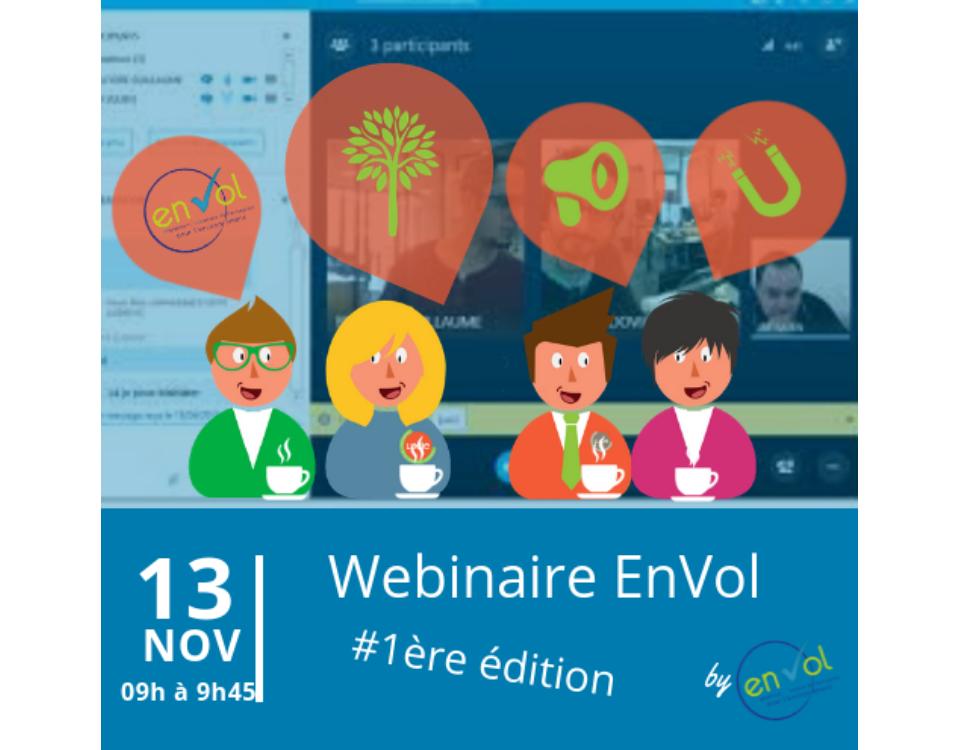 Webinaire EnVol 13 novembre 2018 - EnVol Entreprise