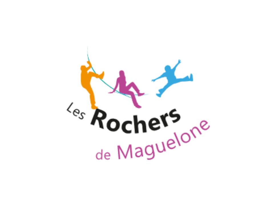 Logo les Rochers de Maguelone - labelEnVol