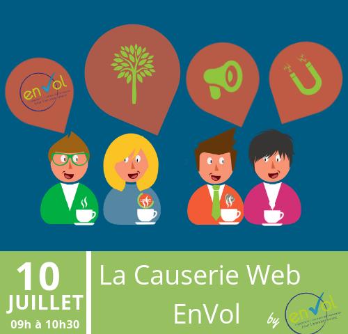 Causerie EnVol 10 juillet 2019 - EnVol Entreprise