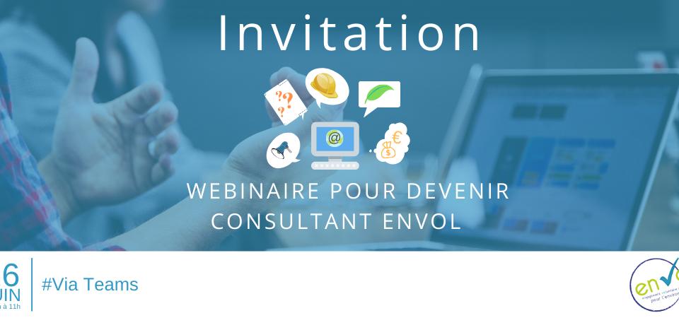 Webinaire devenir Consultant EnVOl - Label EnVol