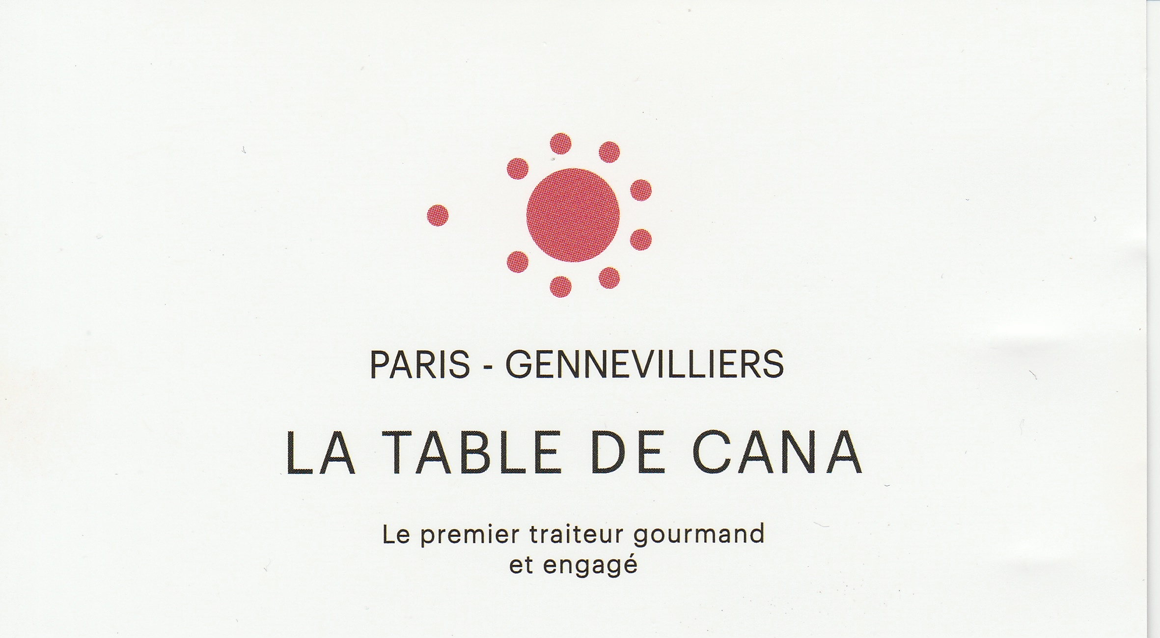 Table de Cana Gennevilliers - Label EnVol