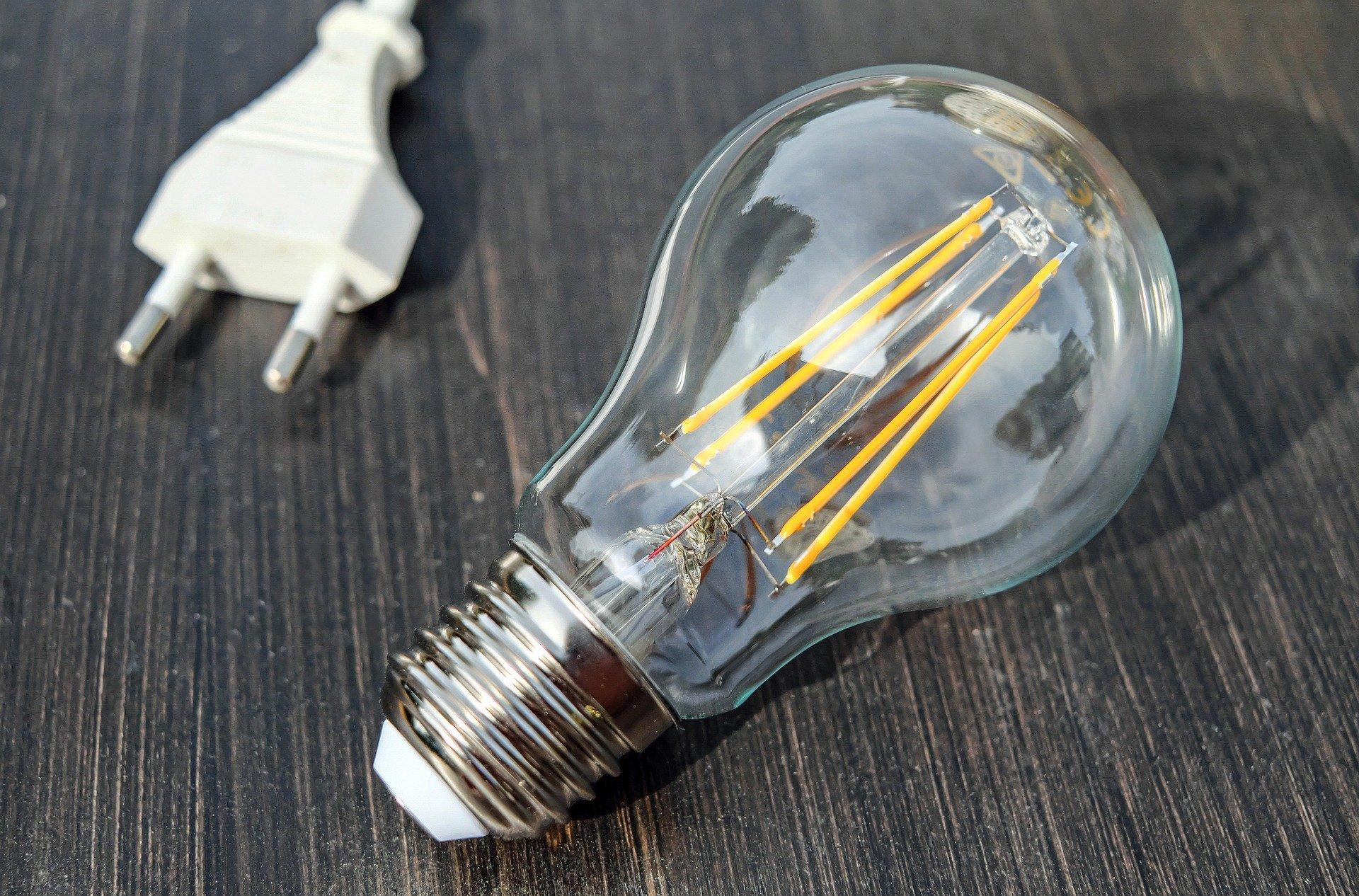Image d'une lampe - Envol Entreprise